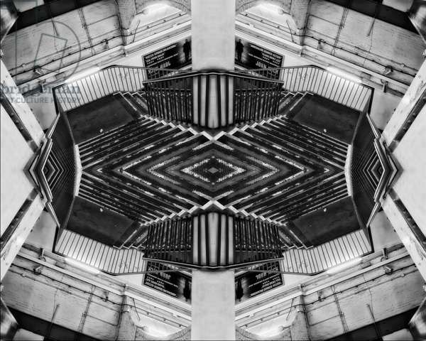 Escher Stairwell, 2015 (digital image)