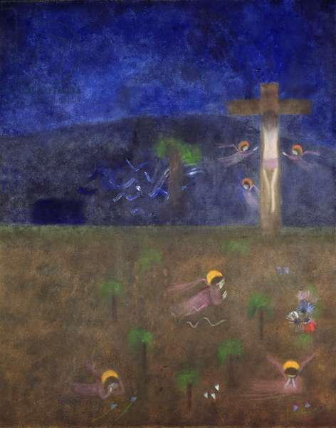 Crucifixion, 1959 (oil on canvas)