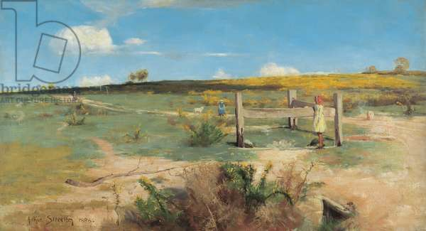 Early Summer - Gorse in Bloom, 1888 (oil on canvas)