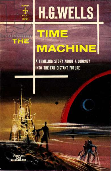 The Time Machine Book Cover, 1950s (colour litho)
