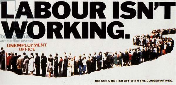 Conservative Party General Election Campaign Poster, 1979 (colour litho)