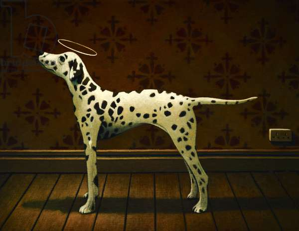 Salvation Dalmatian, 2013, (oil on linen)