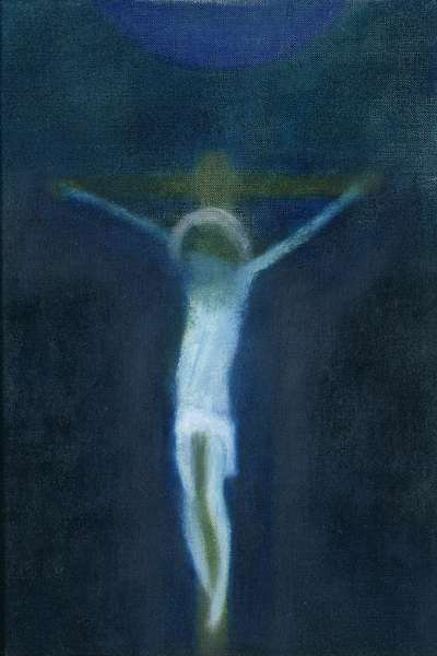 Crucifixion, c.1964 (oil on canvas)