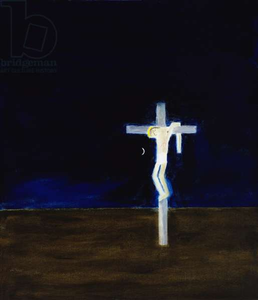 Crucifixion, 1999 (oil on canvas)