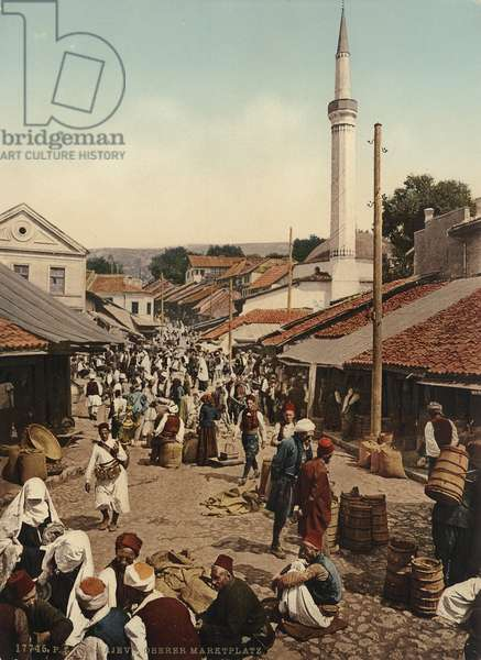Sarajevo during the Austro-Hungarian Empire, c.1900-10 (photo)