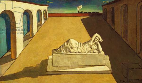 La Solitudine, c.1915 (oil on canvas)
