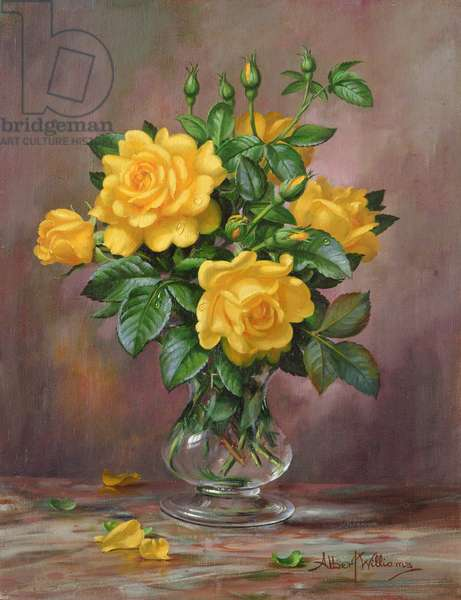 AB/303 Radiant Yellow Roses