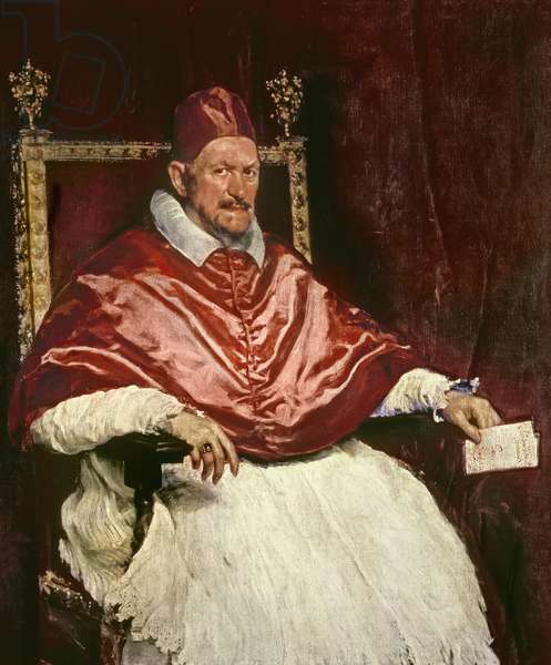 Portrait of Pope Innocent X (1574-1655), 1650 (oil on canvas)