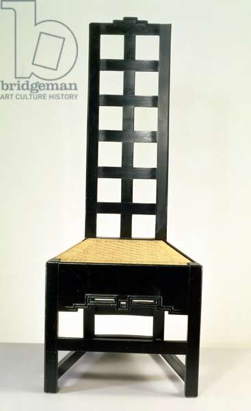Chair by Charles Rennie Mackintosh (1868-1928)