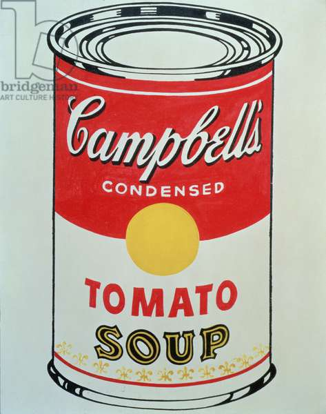 Campbell's Soup Can, 1962 (screen print)