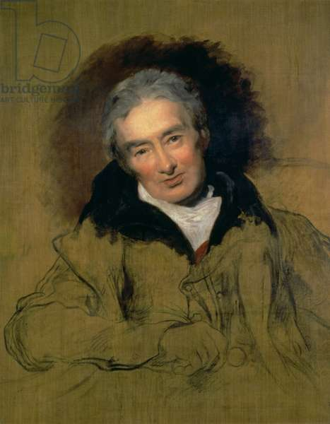 Portrait of William Wilberforce (1759-1833) 1828 (oil on canvas) (see 112022)