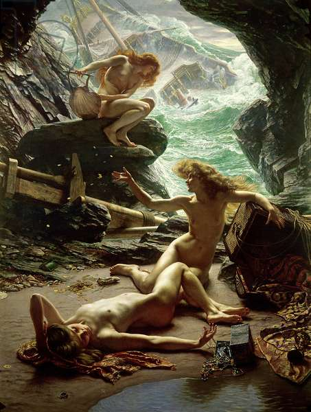 The Cave of the Storm Nymphs, 1903 (oil on canvas)