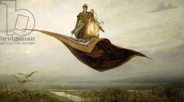 The Magic Carpet, 1880 (oil on canvas)