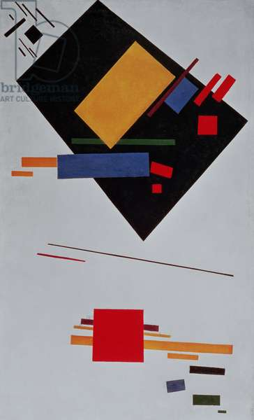 Suprematist Composition, 1915 (oil on canvas)