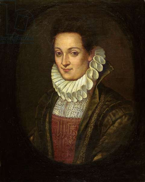 Portrait of Lavinia Fontana or Self Portrait of the Artist, c.1595 (oil on canvas)