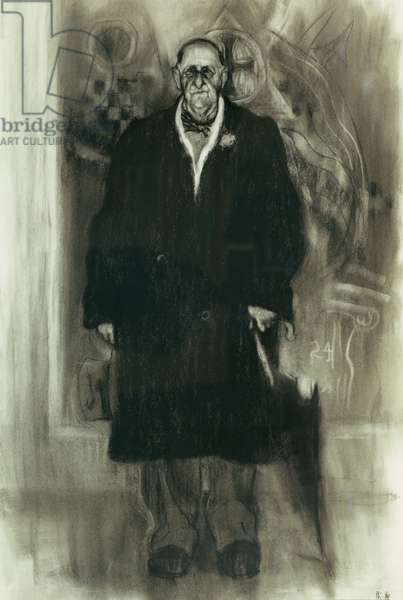 Marsden Hartley, 1989 (charcoal on paper)