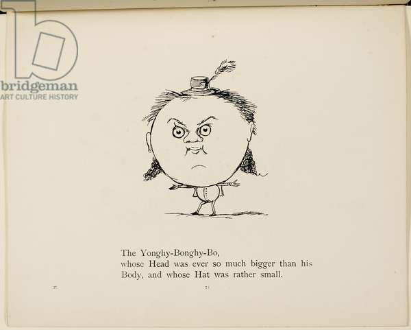 Yonghy-Bonghy-Bo From a collection of poems and songs by Edward Lear. Illustration. Animals.