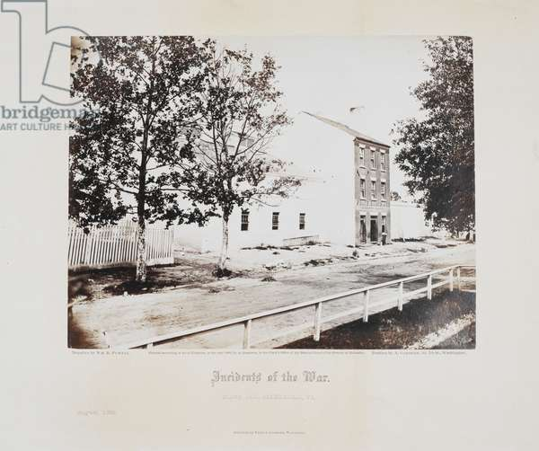 Slave pen, Alexandria, Va. (August 1863)