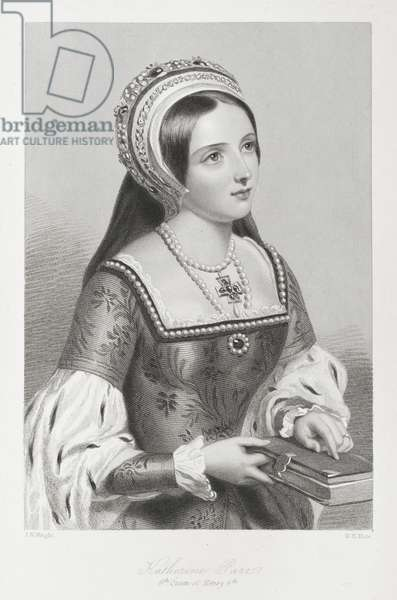 Katherine Parr, 6th queen of Henry 8th.