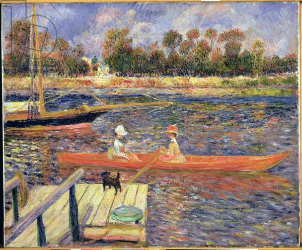 Red Boat, Argenteuil, 1888 (oil on canvas)