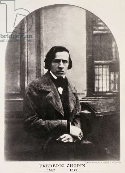 Frederic Chopin (1810-49) engraved from a daguerrotype (photogravure)