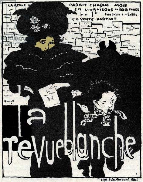 La Revue Blanche, 1896 (colour litho)