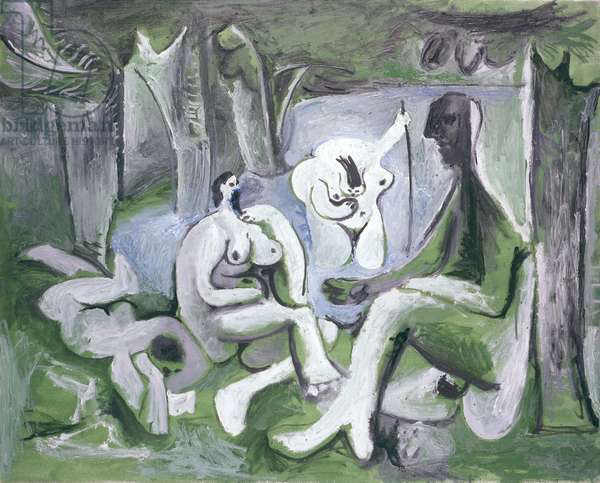 Les Dejeuners, 12th July 1961 (oil on canvas)