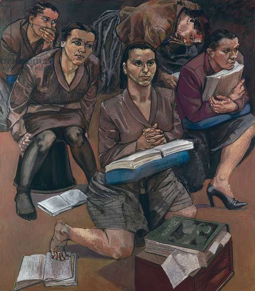 The Lesson, 1997 (pastel on paper, mounted on aluminium)