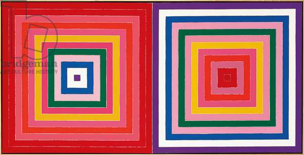 Double Scramble, 1978 (acrylic on canvas)