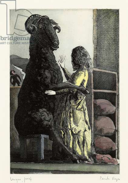 Baa, Baa, Black Sheep, 1989 (etching and aquatint)