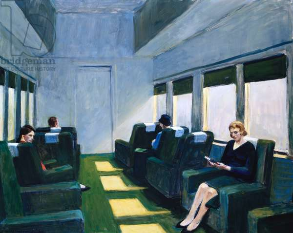 Chair Car, 1965 (oil on canvas)