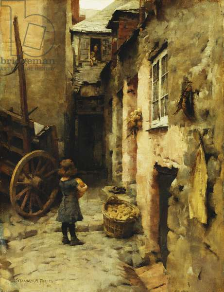 The Daily Bread, 1886 (oil on canvas)