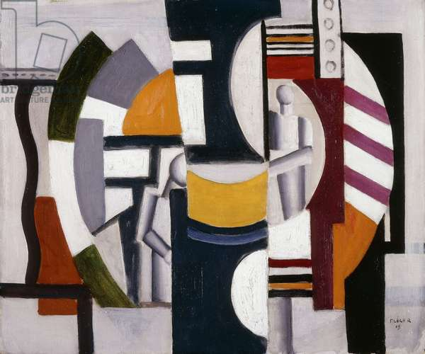 Composition, 1919 (oil on canvas)