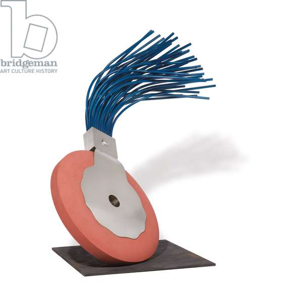 Typewriter Eraser, 1976 (painted aluminum, stainless steel, ferroconcrete, bronze)