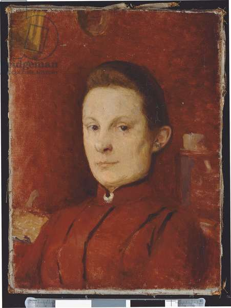 Portrait de Marie Vuillard, 1888 (oil on canvas)