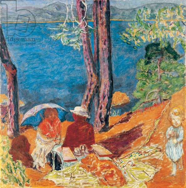 By the Sea, Under the Pines, 1921 (oil on canvas)