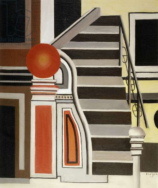 L'Escalier, 1926 (oil on canvas)