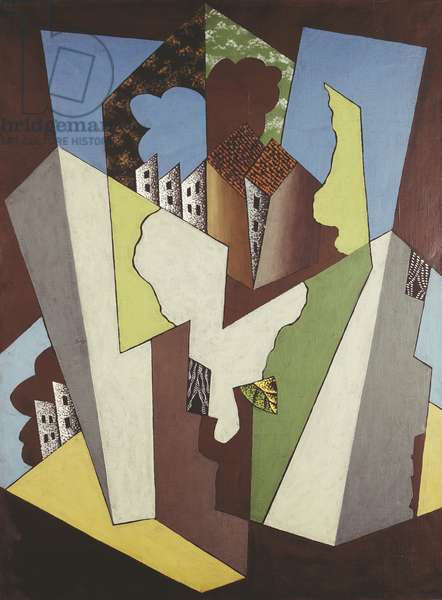 Cubist Landscape; Paysage Cubiste, 1920 (oil on canvas)