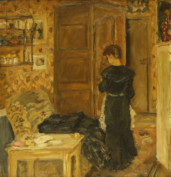 Woman in an Interior; Femme a l'Interieur, c. 1907-10 (oil on canvas)