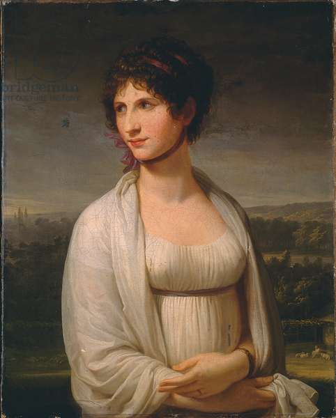 Portrait presumed to be Josephine Bonaparte, 1799 (oil on canvas)