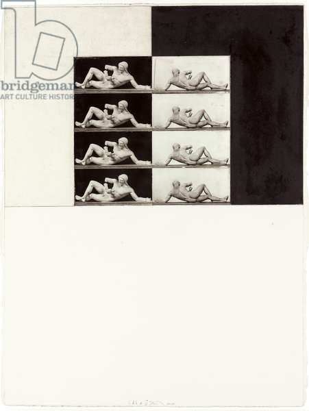 Souvenir de Grece, 1974-1994 (graphite, wax and gelatin silver prints mounted on paper)