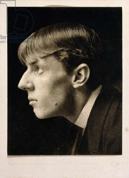 Aubrey Beardsley, 1894, 1894 (photogravure, mounted on buff paper, gilt paper border)