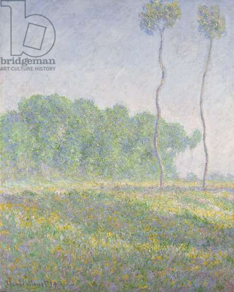 Landscape in the Spring  (Giverny); Paysage du Printemps (Giverny), 1894 (oil on canvas)