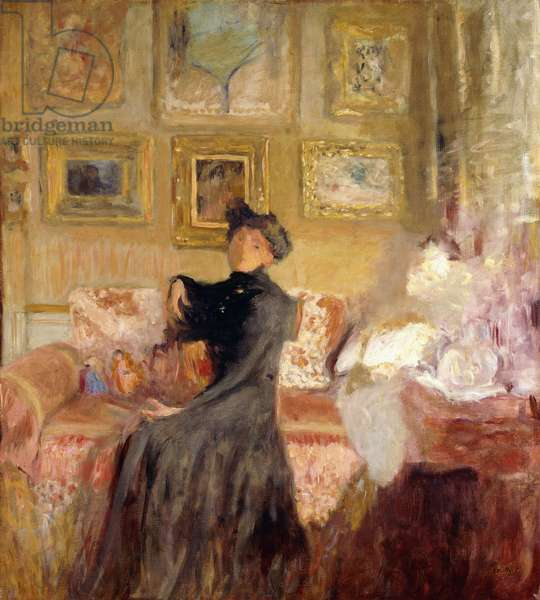 Red Couch; Le Divan Rouge, c.1905 (oil on canvas)