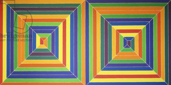 Mitered Squares, 1968 (alkyd on canvas)