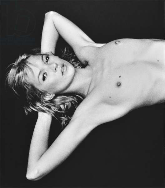 Kate Moss, triptych, London, 2000, printed 2013 (archival pigment prints, flush-mounted on aluminium)