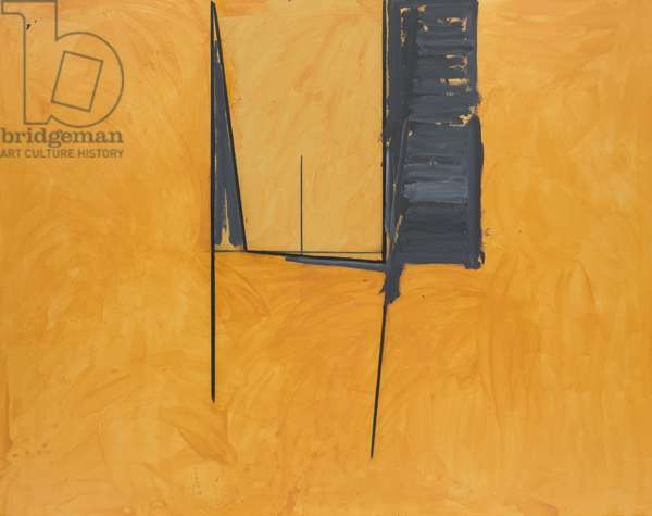 The Mexican Window, 1974 (oil and charcoal on canvas)