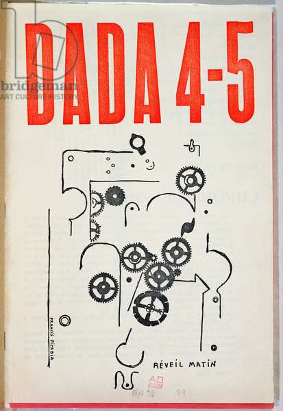 'Dada 4-5', cover of magazine (colour litho)