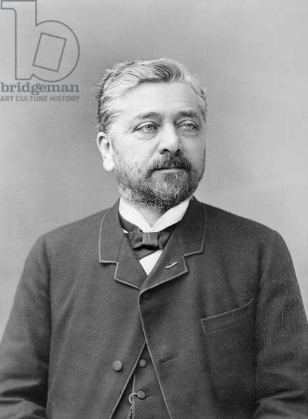 Alexandre Gustave Eiffel (b/w photo)
