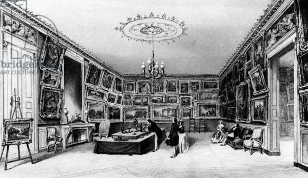 The Galerie Durand-Ruel, 103, rue des Petits-Champs, Paris, 2nd half 19th century (litho)